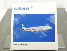 Herpa 507325 Airbus A340-200 Sabena Belgium swissair 1/500 OVP 1606-23-69