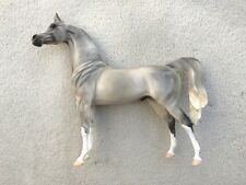 Gorgeous Breyer Peter Stone Arabian Horse Glossy Fleabit Grey Ballroom Dancer SR