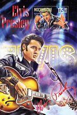 Mozambique 2016 MNH Elvis Presley 1v S/S Music Celebrities Stamps