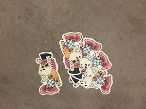 Groovy Zebra Style sticker pack x 5