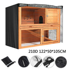 Rabbit Hutch Cover Patio Heavy Duty Outdoor Large Waterproof Protective Cover