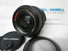 Bell & Howell 28mm 1:2.8 MC Wide Angle Lens M42 Mount, Caps, Hood + Instructions