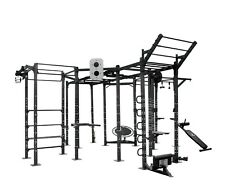 We R Sports Power Rack Commercial Crossfit Power Cage Pull Chin Ups Triceps 08