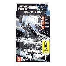 Guerra De Las Galaxias Darth Vader Power Bank Portátil Cargador USB universal de capacidad de 6000mAh
