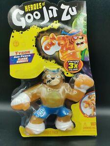 Heroes of Goo Jit Zu - Squishy Tiger Action Figure, Tygor Half of VS Pack