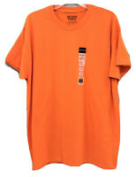 Gildan Men's T-Shirt Moisture Wicking Safety Orange - Size Large/L