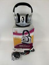 Radio Shack 33-1197 Headband Headphones - Silver/Black