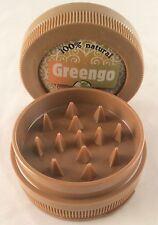 Greengo 3 Parts Plastic Grinder [ BROWN  ] 50mm