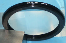"Aluminum Step Down Ring 58mm - 49mm ""Japan"" Filter Adapter Ring, 58  49    d1"