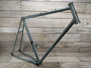 "1983 Blue Schwinn World Giant Built Japan Frame 23"" Vintage Steel Road Bike"