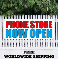 Phone Store Now Open Advertising Vinyl Banner Flag Sign Grand Opening New Store