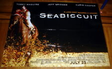SEABISCUIT MOVIE POSTER 5FT SUBWAY POSTER XXL