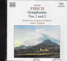 CD album: Zdenek Fibich: Symphonies N°1 & 2. Andrew Mogrelia. naxos. M