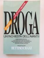 Libro Droga un nemico che si può vincere Un'inchiesta dell'Avanti 1989 biagin