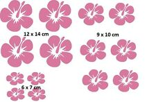 Auto Aufkleber Blume Orchidee Flower 14 St. JDM Sticker Tuning Folie Decal Pink