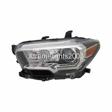 TOYOTA TACOMA 2016-2017 LEFT DRIVER HEADLIGHT HEAD LIGHT LAMP W/LED DRL