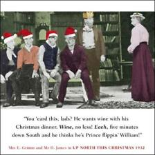 Up North Funny Christmas Greeting Card Retro Humour Drama Queen