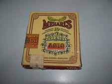 Vintage Agio Meharis 10 Cigar Paper Box In Fair To Good Condition