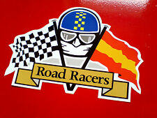 SPANISH ROAD RACER Moto GP TT Fans Motorcycle Van Sticker Decal 1 off 100mm
