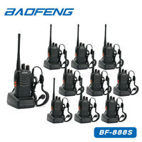 10× BaoFeng BF-888S Cavo 10 Auricolare UHF 400-470MHz ham Radio RICETRASMITTENTE