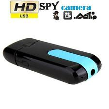 Hot Mini Spy Hidden DV DVR U8 USB Disk HD Camera Cam Motion Detector 720x480 T#