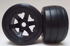 1/5 Baja Wheels & Tyres SLICKS  Rear fit HPI 5B  King Motor Rovan PRC