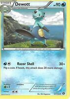POKEMON XY STEAM SIEGE CARD - DEWOTT 31/114
