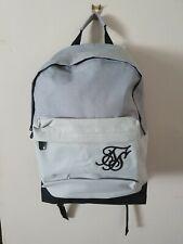 Sik Silk Pouch Backpack Grey Black SS-12378 BNWT