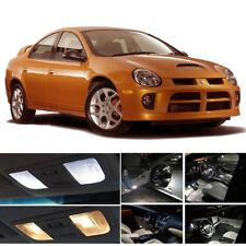 White LED Interior Lights Package Kit + Trunk For 2003-2005 Dodge Neon SRT4 PZ
