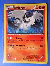 2x Reshiram 21/99 Pokemon TCG card BW Next Destinies rare NM