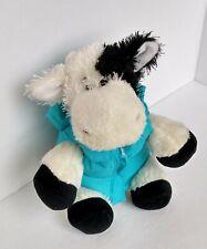 """Ganz Lil' Kinz """"Cow"""" Stuffed Animal Toy Plush with Jacket Vest 7"""""""
