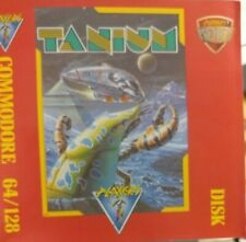 Tanium (Players, 1990) Commodore C64 (Diskette, Cover, Manual)