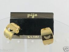 F197:New $3 Pije Fashionable Earrings from USA-Gold Tone-Diamond in Card
