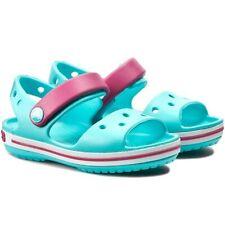 Crocs Crocband Sandals Kids Children Girls Summer Holiday Beach Strap Shoes uk 3