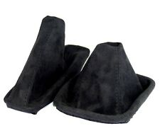Shift gaiter+ Hand Brake Cuff Suitable For BMW E 46 from ALCANTARA black