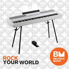 Korg SP280 Digital Piano White 88 Key SP-280 with Stand and Pedal - BNIB - BM