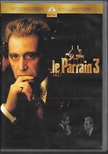 DVD ZONE 2--LE PARRAIN 3--PACINO/WALLACH/FONDA/MANTEGNA/COPPOLA