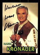 Hansl Krönauer Autogrammkarte Original Signiert ## BC 75825