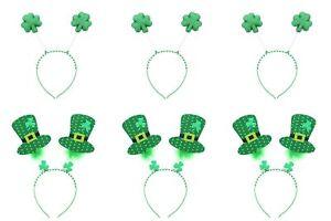 Zac's Alter Ego Pack of 6 St. Patrick's Day Irish Themed Head Bopper