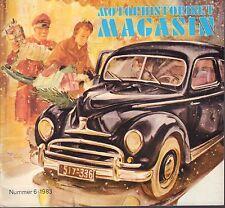 Motorhistoriskt Magasin Swedish Car Magazine #6 1983 El Dorado 031617nonDBE