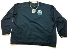 Nike Golf Cambridge Bears New Mens Blue Windbreaker Sweatshirt Size 3XL