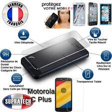 Protection d'Ecran en Verre Trempé Contre les Chocs pour Motorola Moto C Plus +