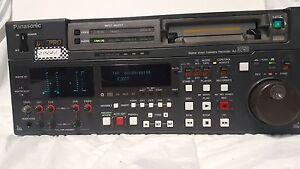 Panasonic AJ-D750P Digital Video Cassette Recorder