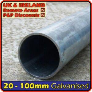 Galvanised Steel Round Tube║20mm - 100mm outside diameter║pipe,pole,post,chs