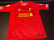 NWT Warrior Men's Red Liverpool Football Club  Standard Chartered Jersey Small