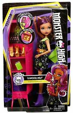 Monster High ghoul-la-la Locker mit Clawdeen Wolf Puppe