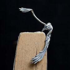 1 PIECE silversterling Silver Raven Crow Ear Wrap EAR Cuff Earring Jewelry P1983