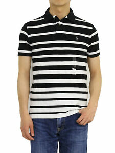 Polo Ralph Lauren Custom Fit Short Sleeve Striped Polo Shirt with pony - 7 types