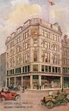 Hackney Furnishing Co Ltd Shop Oxford Street London Advertising old pc used 1934