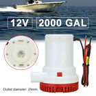 12V 2000GPH Electric Submersible Marine Bilge Sump Water Pump For Boat Yacht RV photo